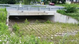 12 B Irving St. Cable Concrete erosion control mats